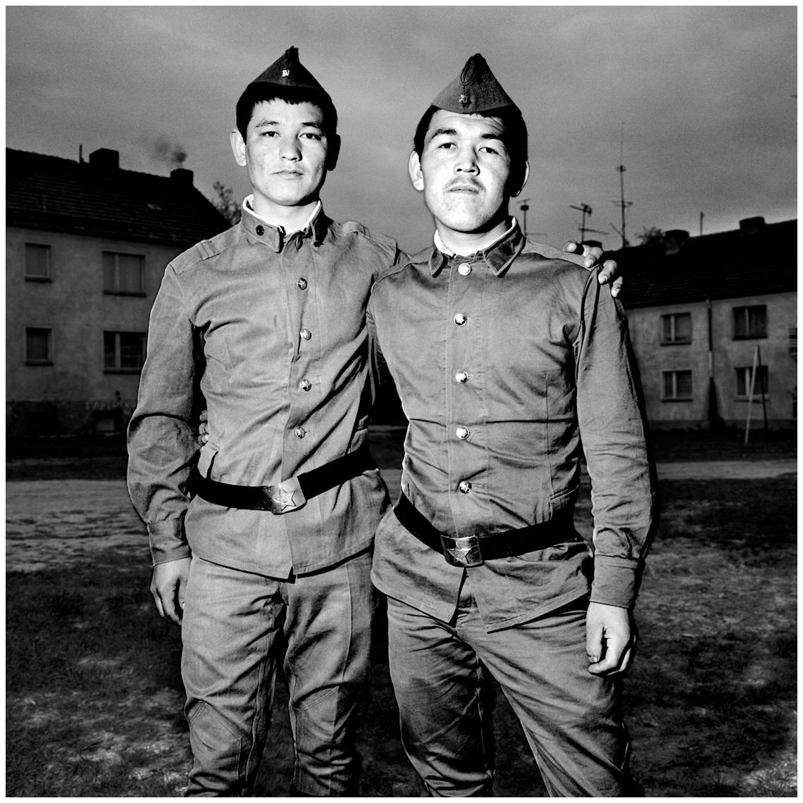 Soviet Soldiers in East Germany